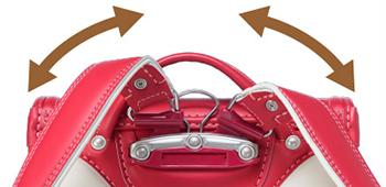 障がい児用のランドセルの背カン