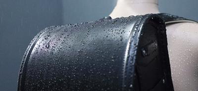 雨カバーいらずの優れた防水性