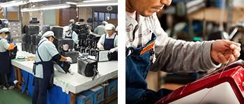 メーカー系と工房系の違い