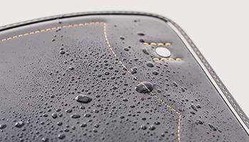 雨にも強い丈夫なつくり